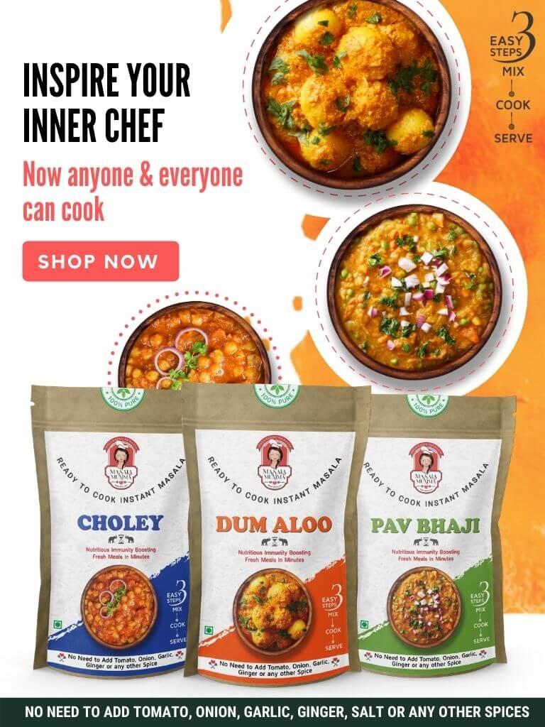 Masala Mumma - Ready to cook instant masalas